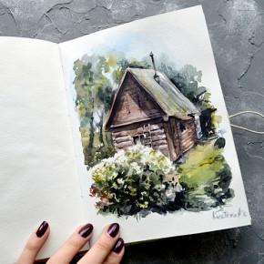 Истории артбуков: Анастасия Кустова