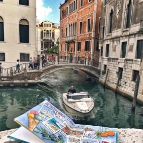 Арт-путешествие по Италии: акварельная Лигурия и Венеция