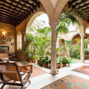 Акварельный ретрит в испанском замке
