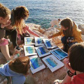 Акварельный интенсив на море в Турции